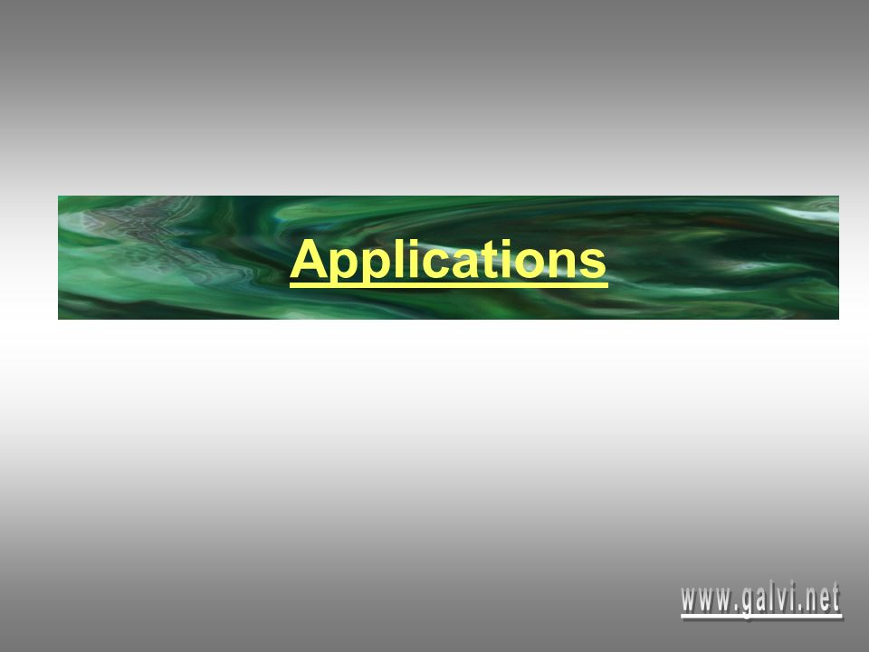Applications www.galvi.net