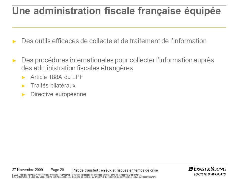 La pratique des services de vérification en France