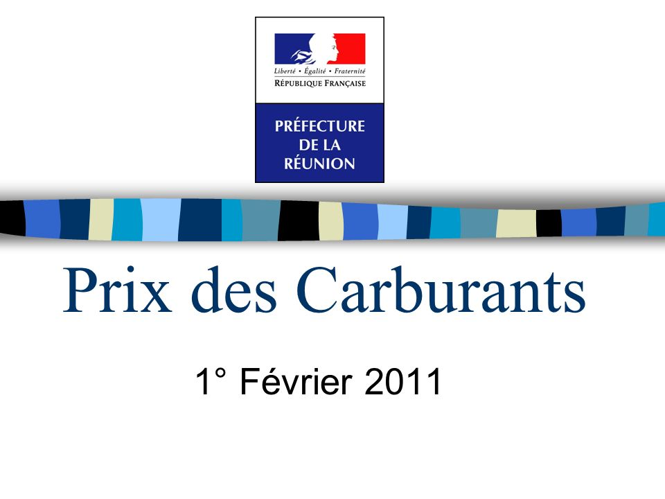 Prix des Carburants 1° Février 2011