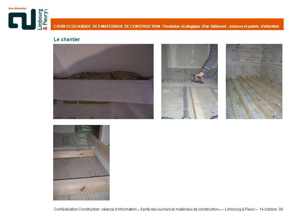 CHOIX ECOLOGIQUE DES MATERIAUX DE CONSTRUCTION : l'isolation écologique d'un bâtiment : astuces et points d'attention