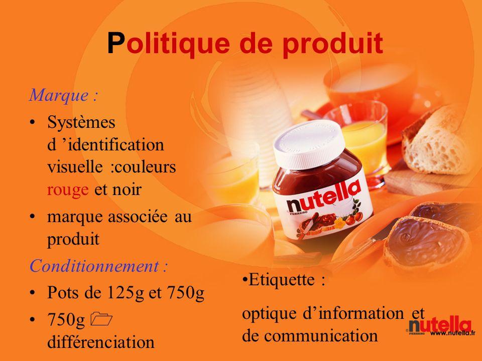 Politique de produit Marque :