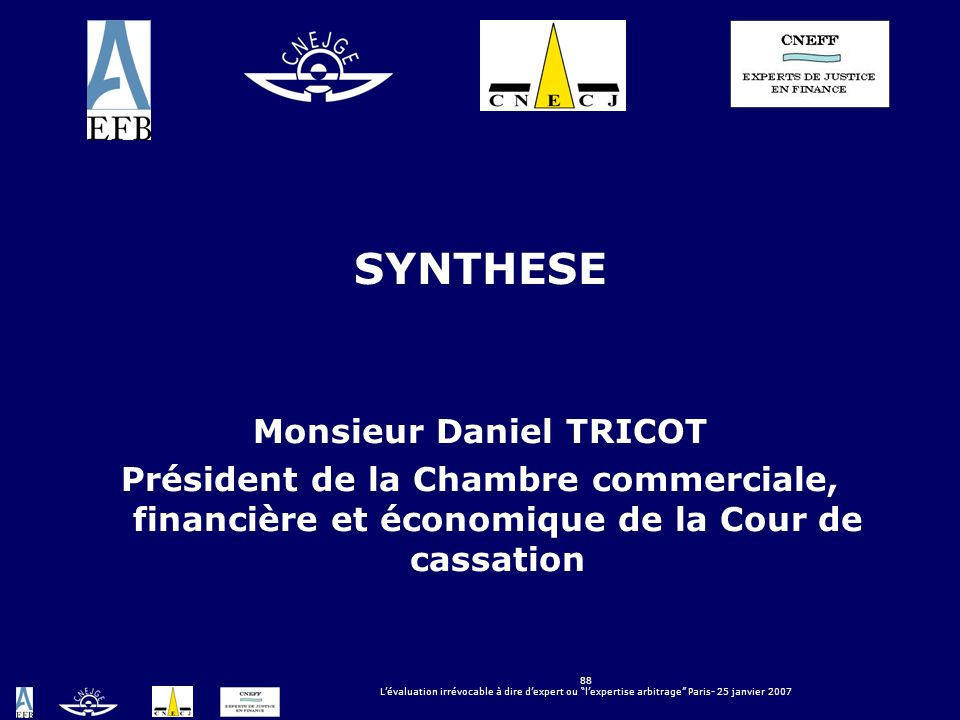 Monsieur Daniel TRICOT