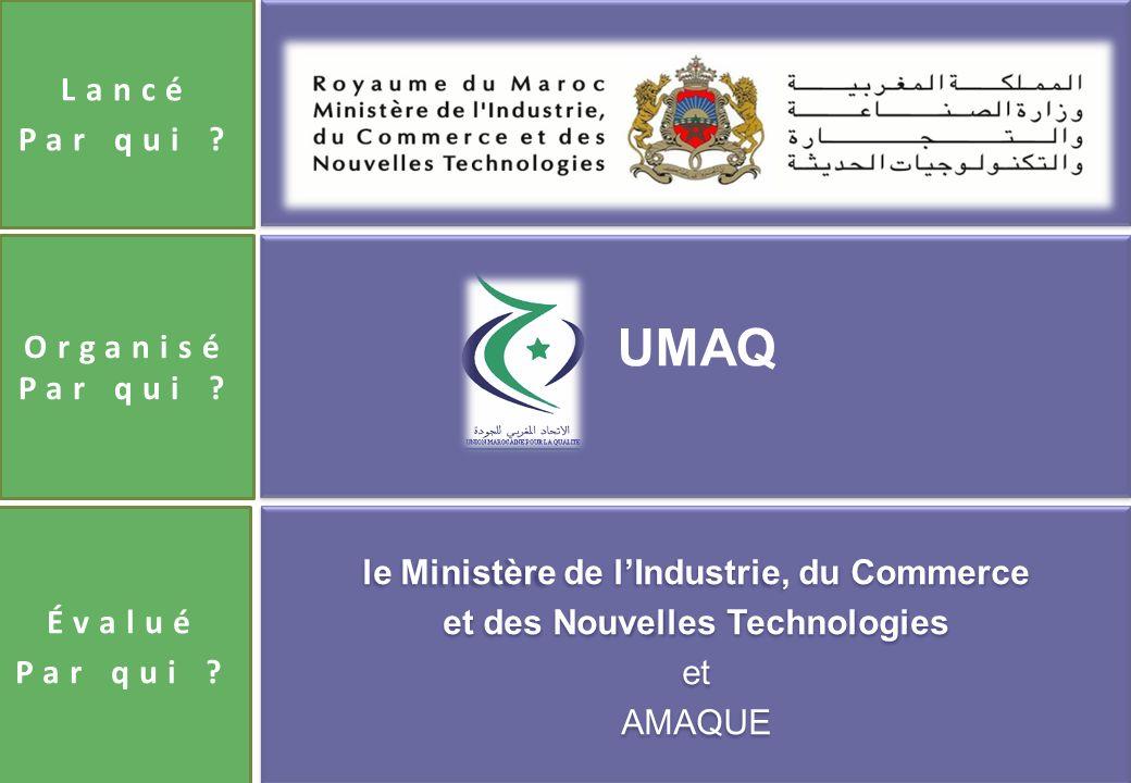 le Ministère de l'Industrie, du Commerce et des Nouvelles Technologies