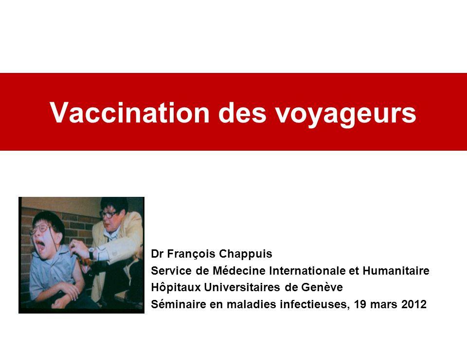 Vaccination des voyageurs