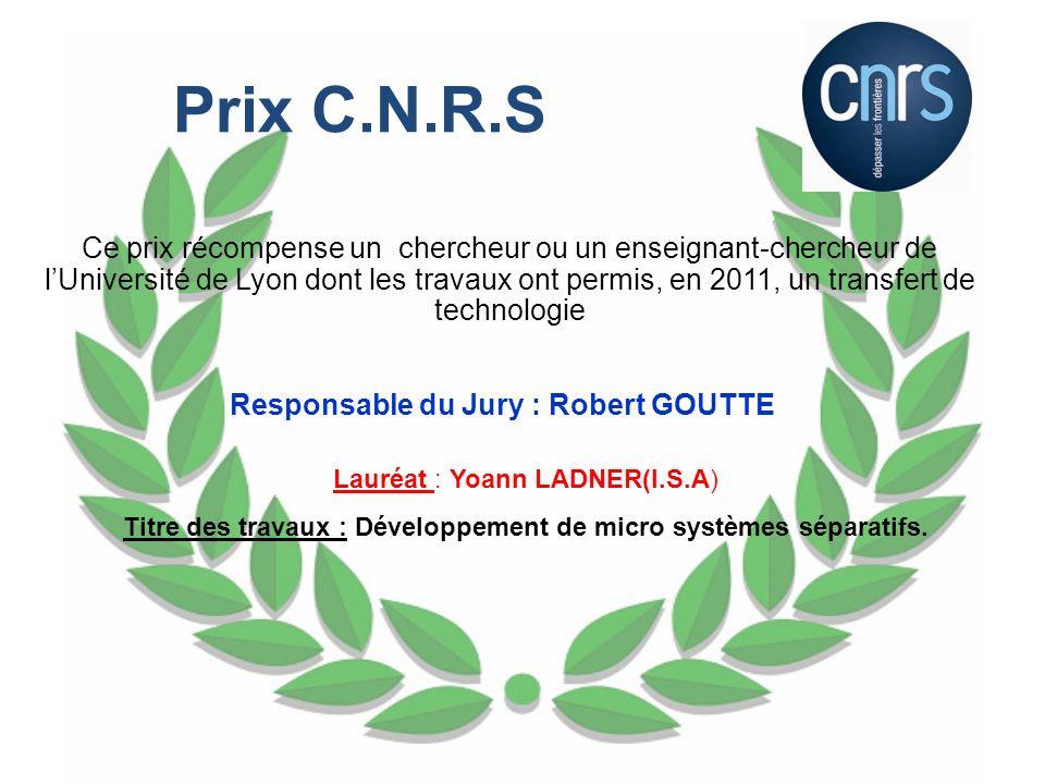 Prix C.N.R.S