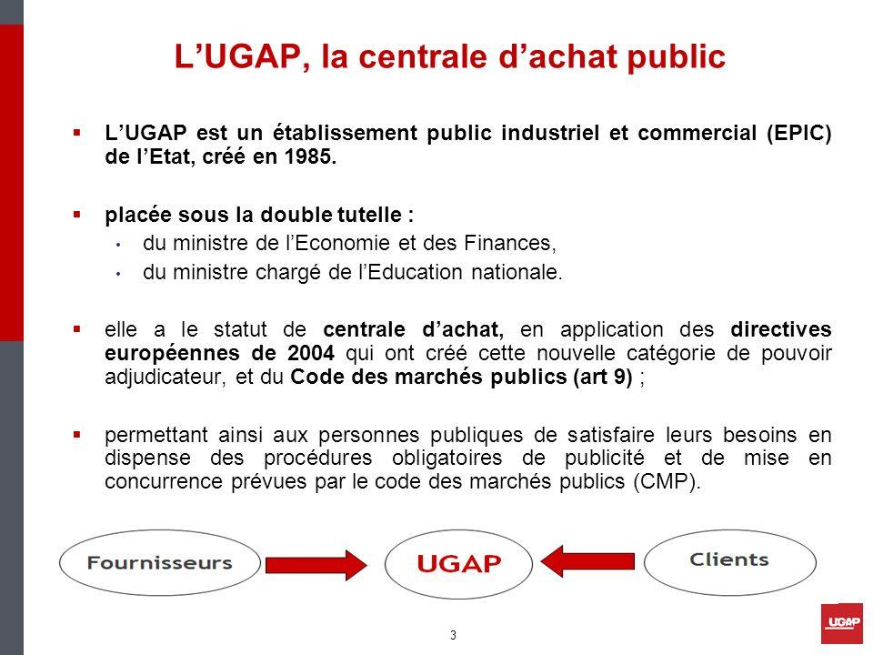 L'UGAP, la centrale d'achat public