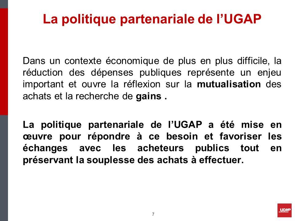 La politique partenariale de l'UGAP