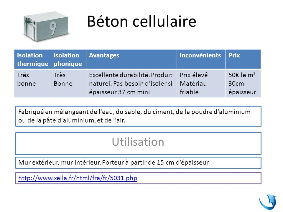 Les Matriaux Isolants Phoniques  Ppt Tlcharger