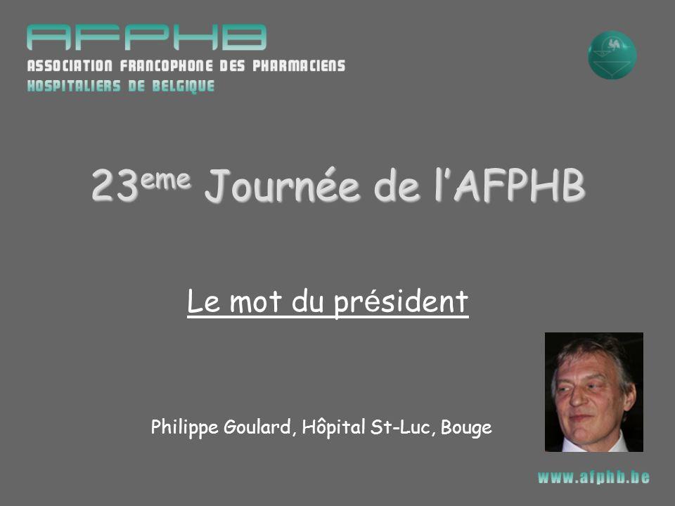 Philippe Goulard, Hôpital St-Luc, Bouge