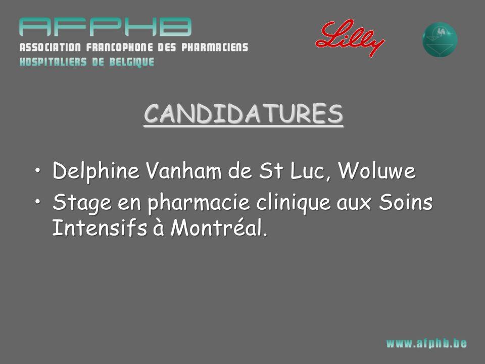CANDIDATURES Delphine Vanham de St Luc, Woluwe