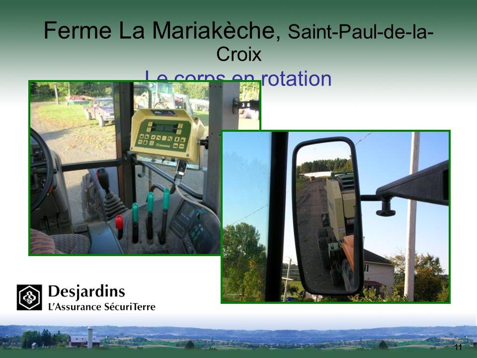 Ferme La Mariakèche, Saint-Paul-de-la-Croix