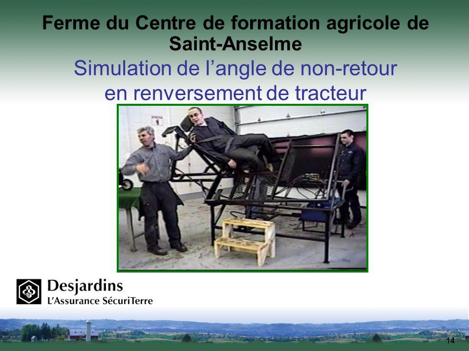 Ferme du Centre de formation agricole de Saint-Anselme