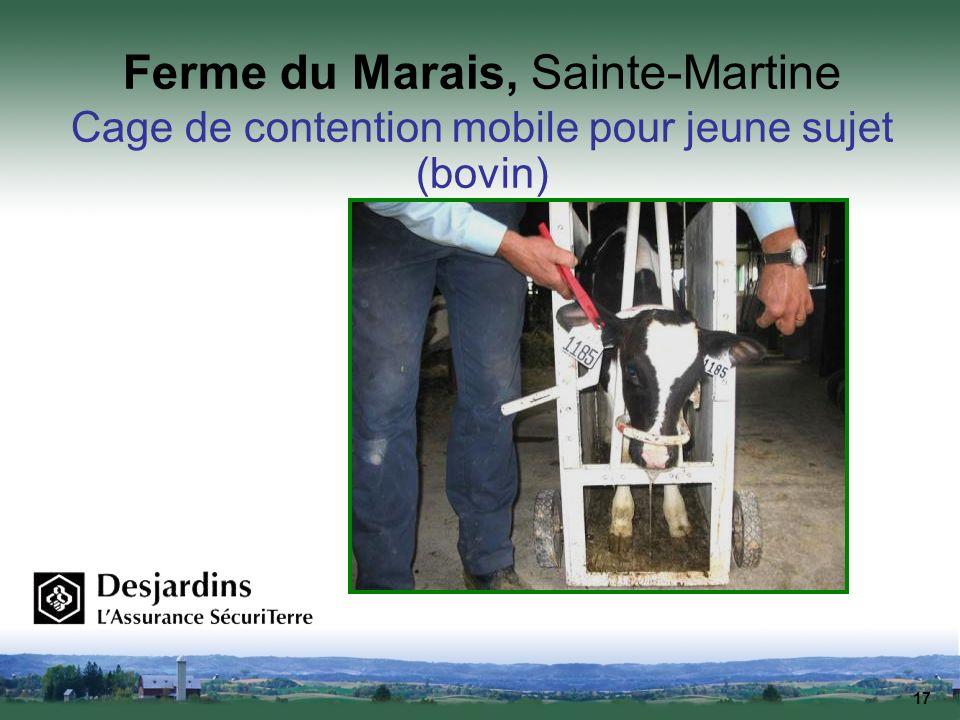 Ferme du Marais, Sainte-Martine