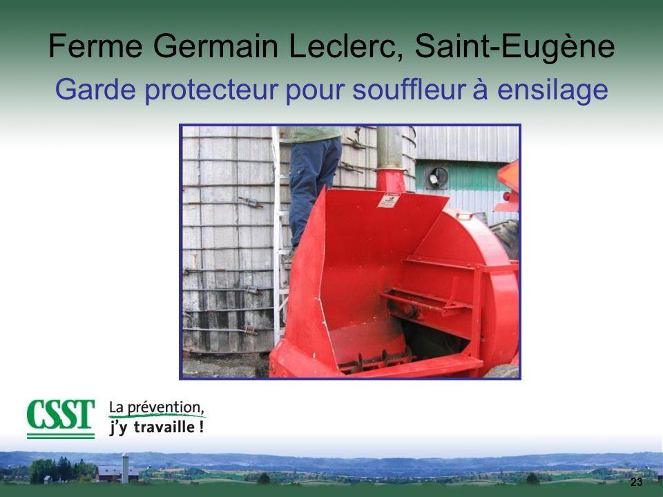 Ferme Germain Leclerc, Saint-Eugène