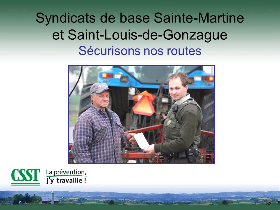 Syndicats de base Sainte-Martine et Saint-Louis-de-Gonzague