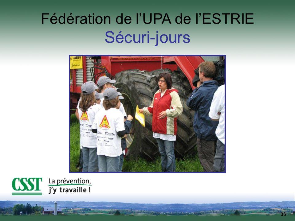 Fédération de l'UPA de l'ESTRIE