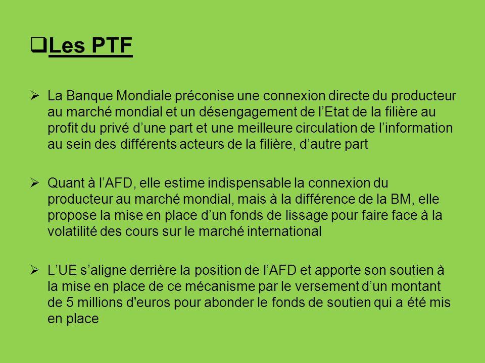 Les PTF