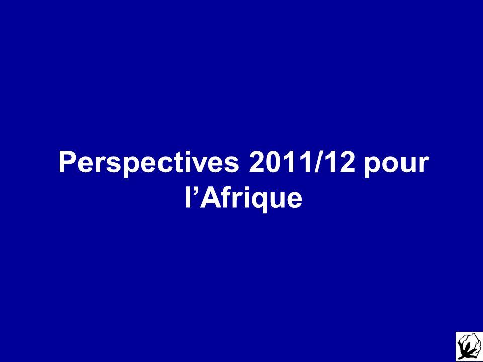 Perspectives 2011/12 pour l'Afrique