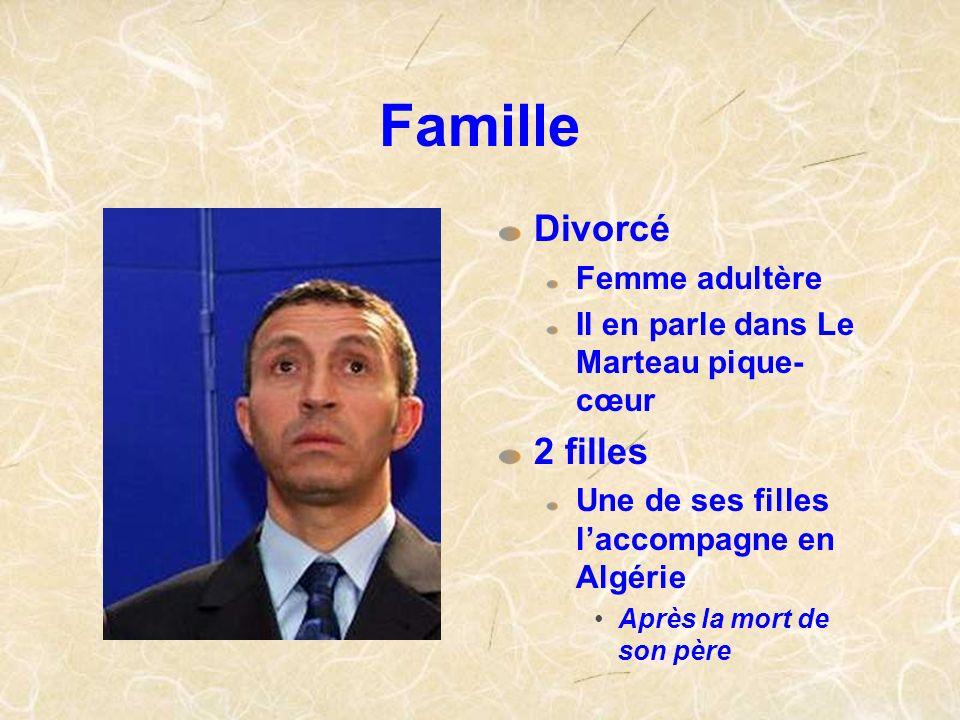 Famille Divorcé 2 filles Femme adultère