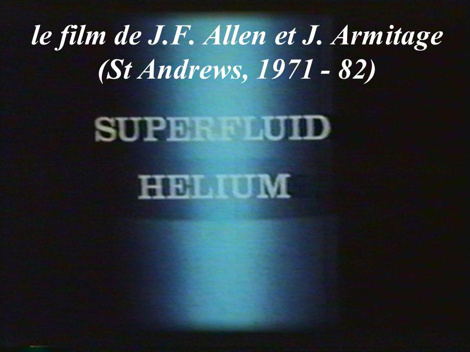 le film de J.F. Allen et J. Armitage (St Andrews, 1971 - 82)