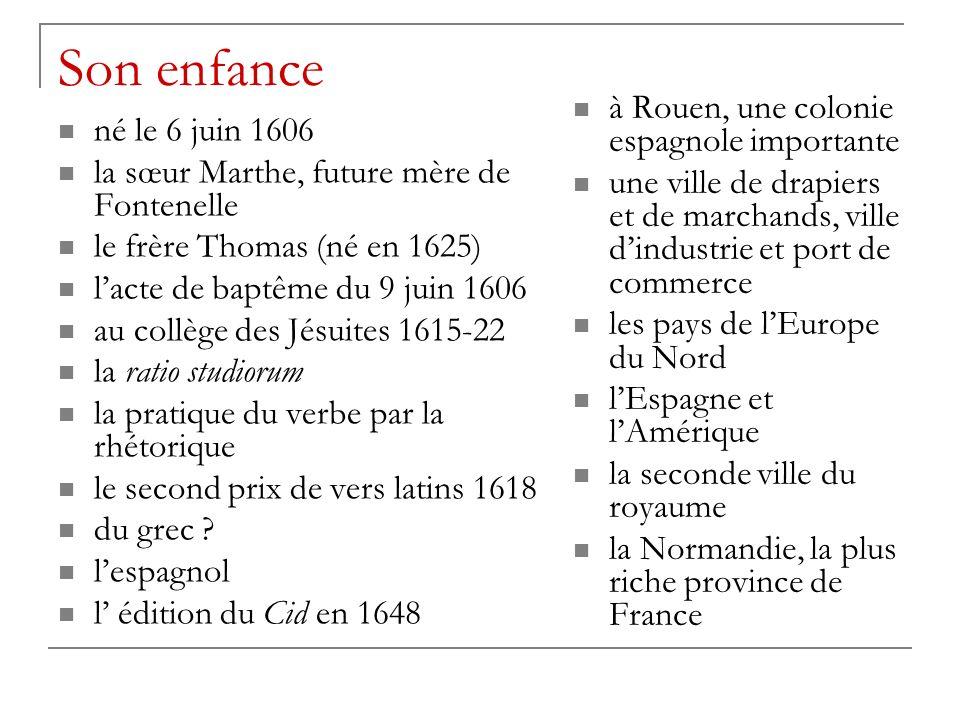 Son enfance à Rouen, une colonie espagnole importante