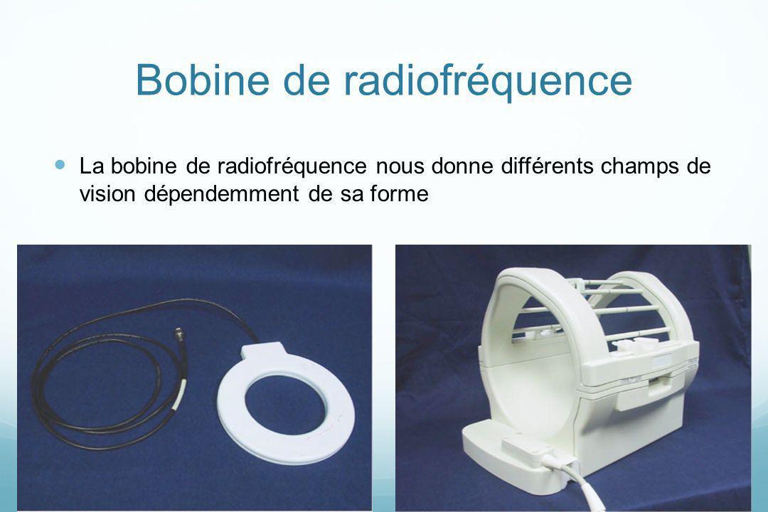 Bobine de radiofréquence