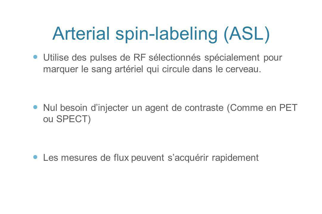 Arterial spin-labeling (ASL)