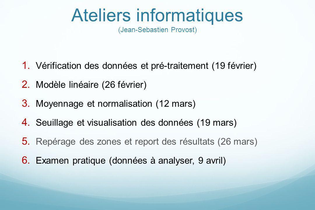 Ateliers informatiques (Jean-Sebastien Provost)