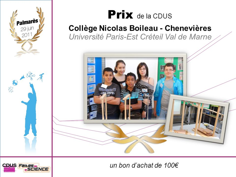 Collège Nicolas Boileau - Chenevières