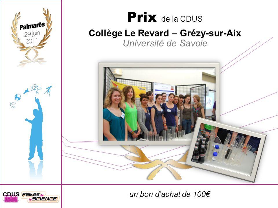 Collège Le Revard – Grézy-sur-Aix