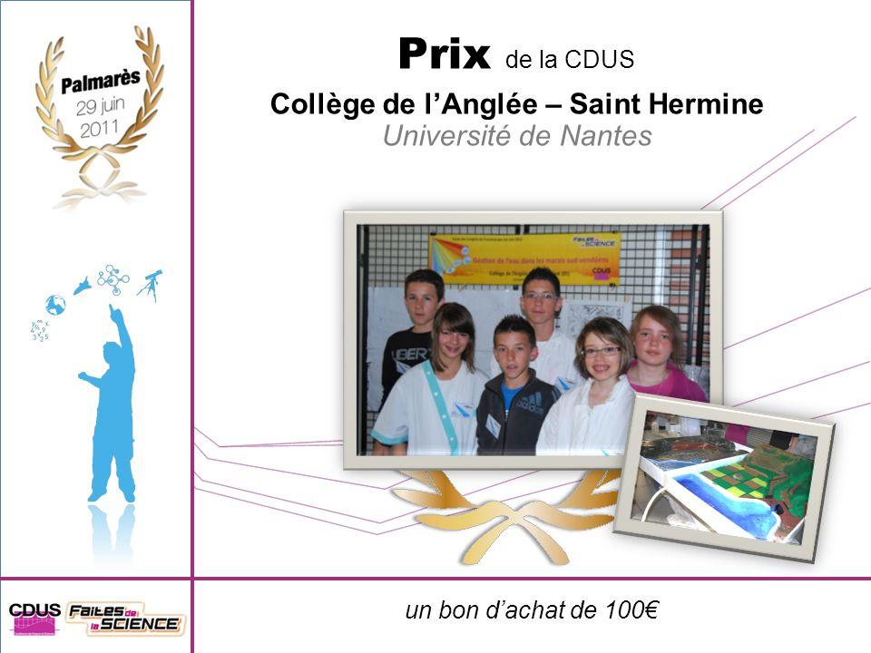 Collège de l'Anglée – Saint Hermine