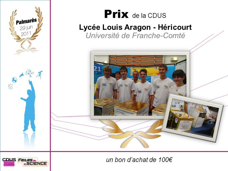 Lycée Louis Aragon - Héricourt