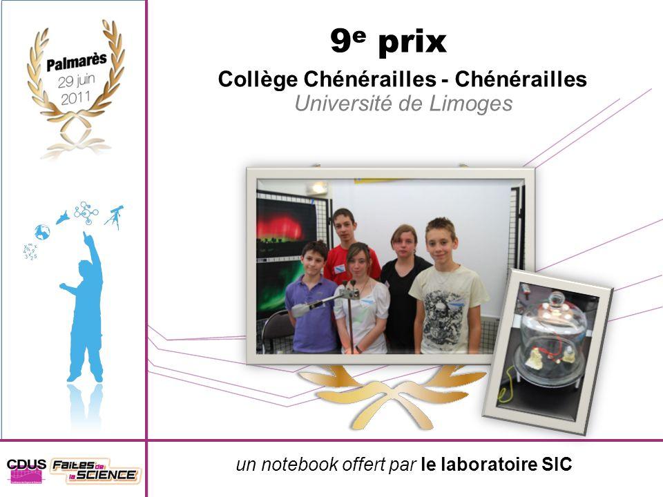 Collège Chénérailles - Chénérailles