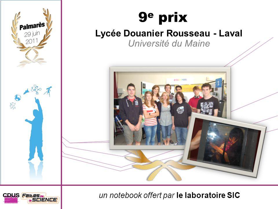 Lycée Douanier Rousseau - Laval