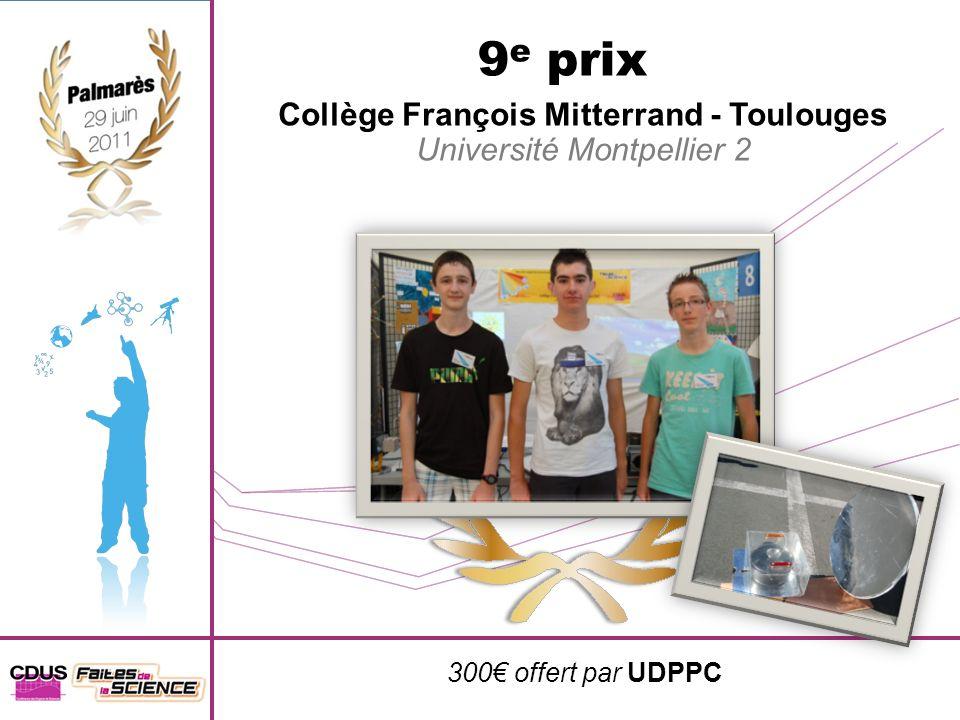 Collège François Mitterrand - Toulouges
