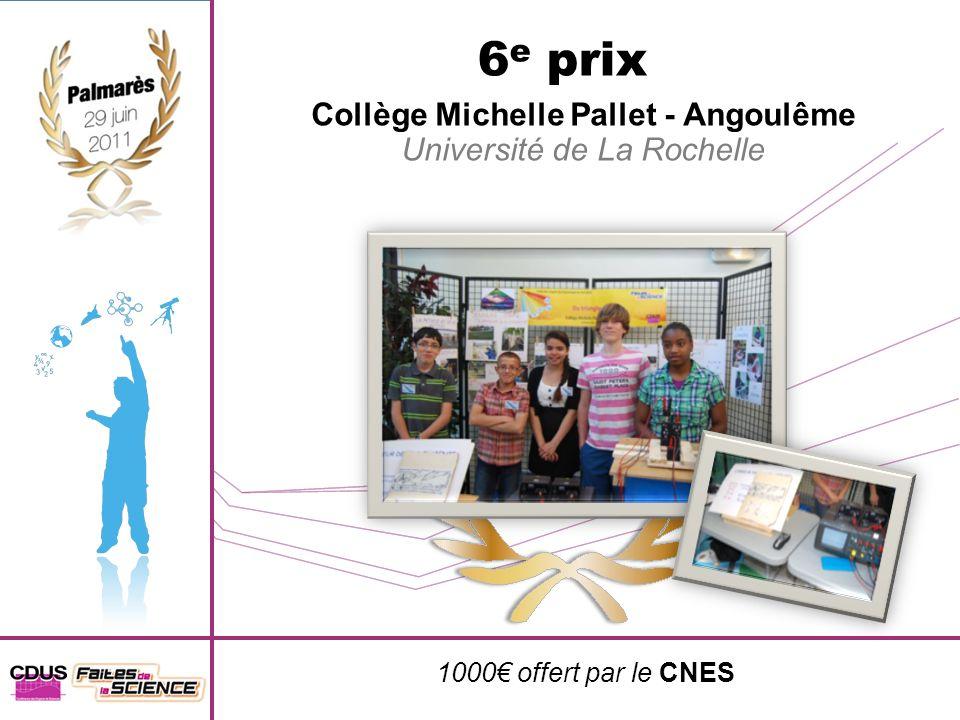 Collège Michelle Pallet - Angoulême