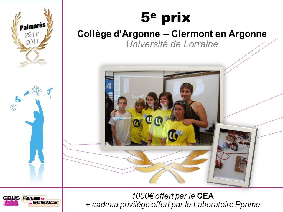Collège d'Argonne – Clermont en Argonne