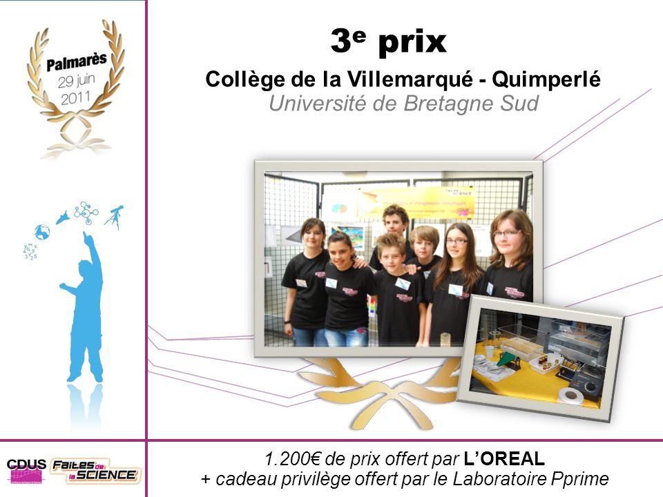 Collège de la Villemarqué - Quimperlé