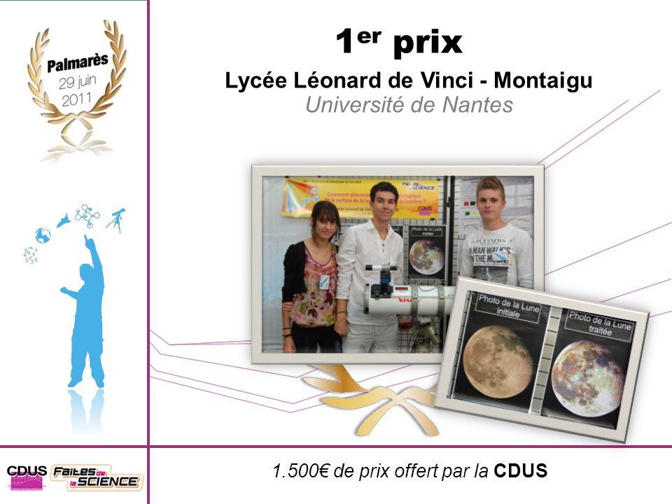 Lycée Léonard de Vinci - Montaigu