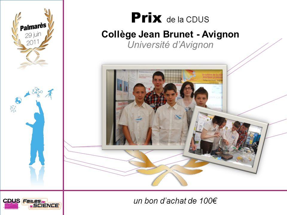 Collège Jean Brunet - Avignon