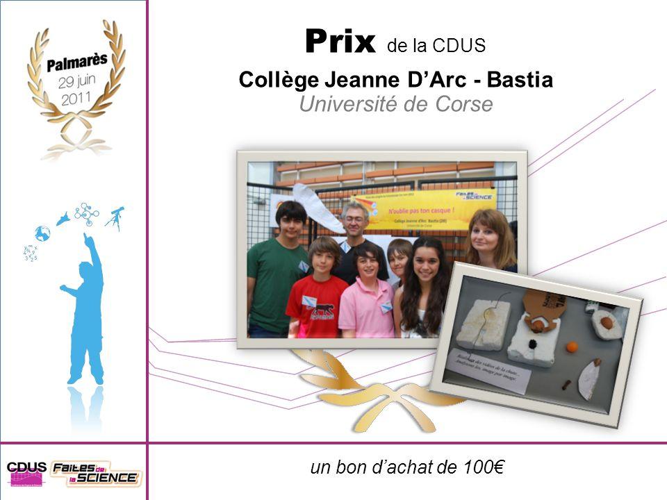 Collège Jeanne D'Arc - Bastia