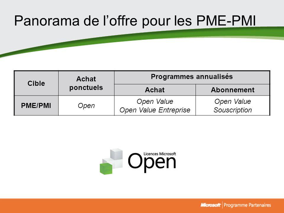 Panorama de l'offre pour les PME-PMI