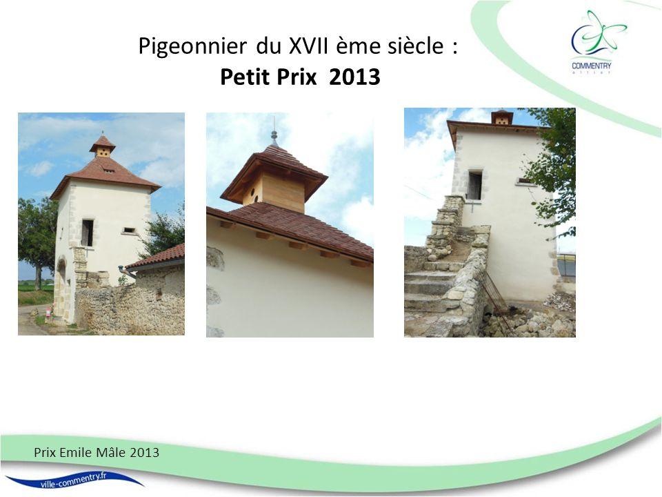 Pigeonnier du XVII ème siècle : Petit Prix 2013