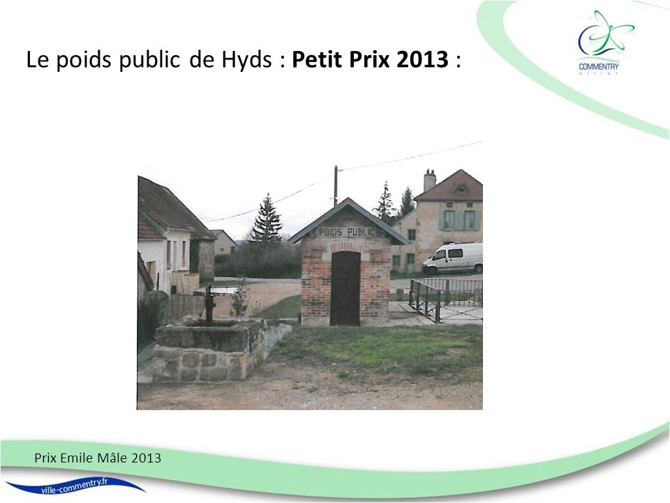 Le poids public de Hyds : Petit Prix 2013 :