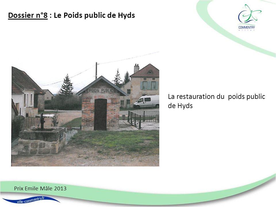 Dossier n°8 : Le Poids public de Hyds