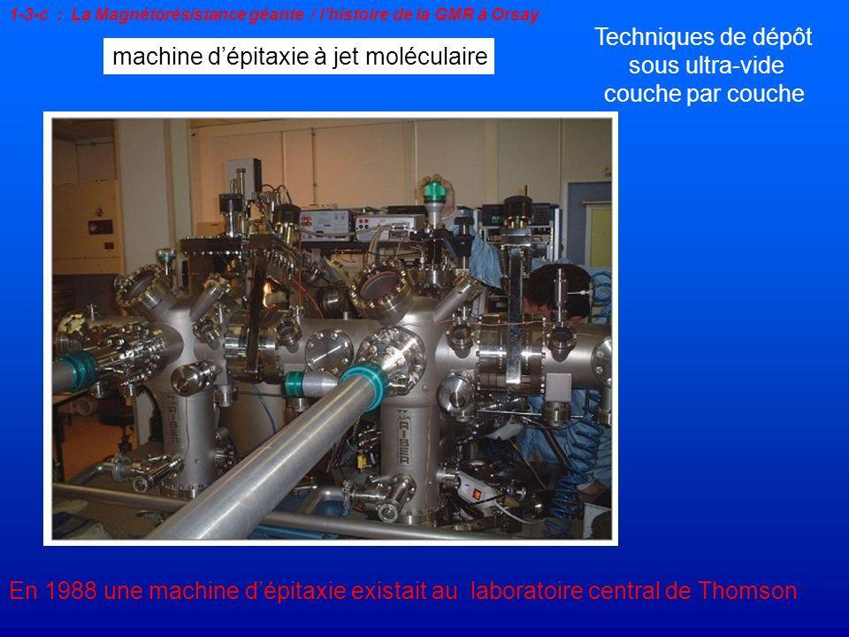 machine d'épitaxie à jet moléculaire