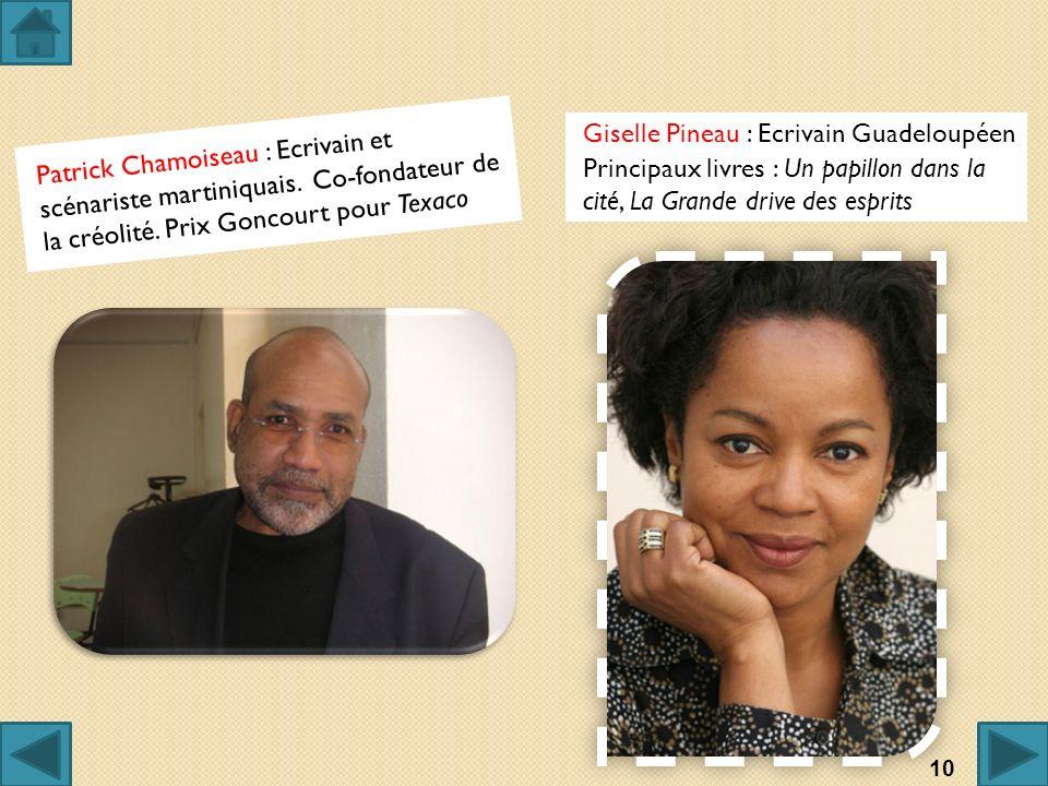 Giselle Pineau : Ecrivain Guadeloupéen