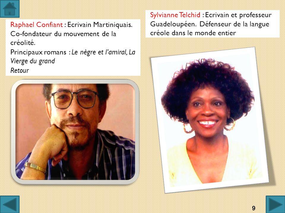Sylvianne Telchid : Ecrivain et professeur Guadeloupéen