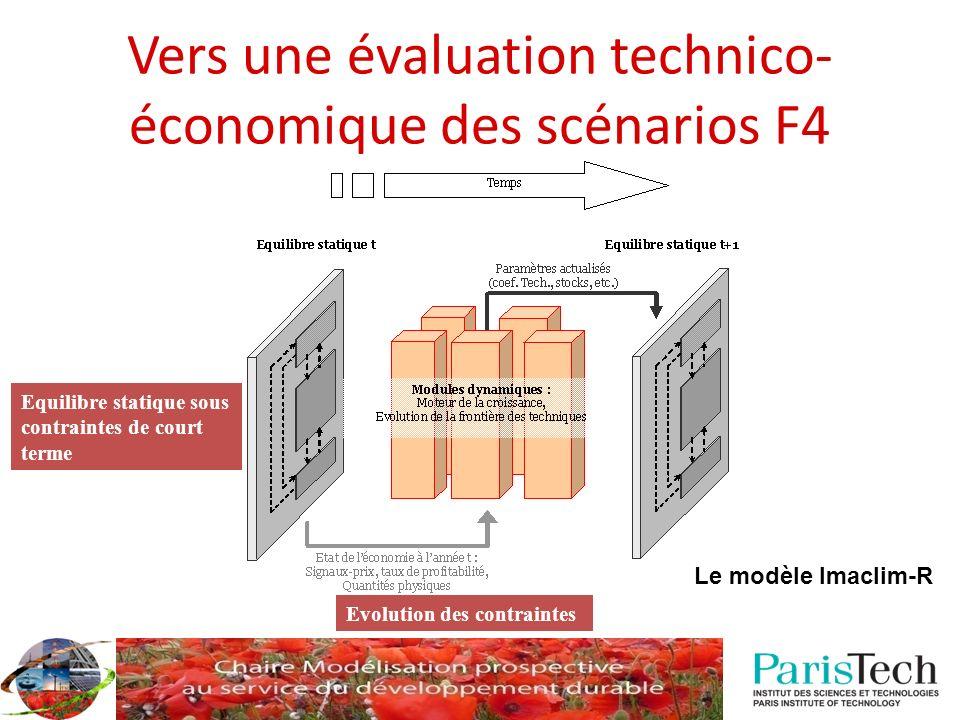 Vers une évaluation technico-économique des scénarios F4