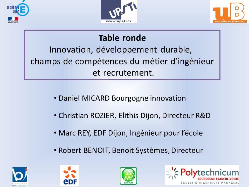 Innovation, développement durable,